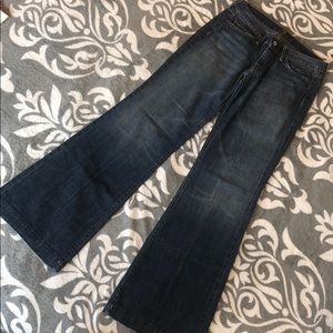 SEVEN FOR ALL MANKIND 7 wide leg denim jeans